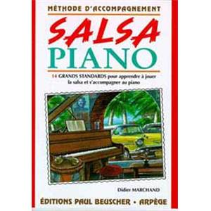 MARCHAND DIDIER - SALSA PIANO METHODE D'ACCOMPAGNEMENT
