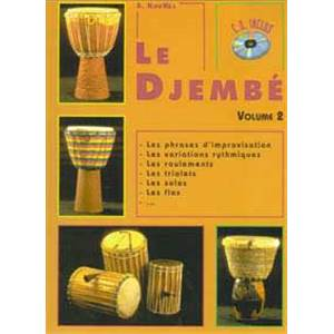 KOUKEL SEBASTIEN - DJEMBE VOL.2 + CD