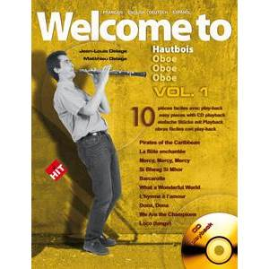 COMPILATION - WELCOME TO HAUTBOIS VOL.1 + CD