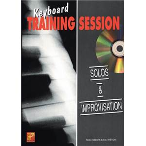 ABBATTE M/THIEVON E - SOLOS ET IMPROVISATION METHODE CLAVIER + CD