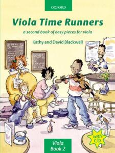 BLACKWELL KATHY ET DAVID - VIOLA TIME RUNNERS AUDIO ACCESS- ALTO