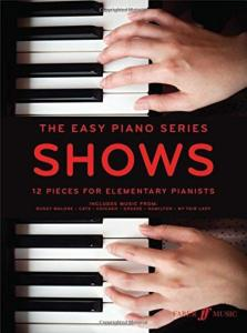 COMPILATION - THE EASY PIANO SERIES : SHOWS (EASY PIANO)