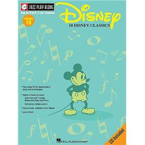 DISNEY - JAZZ PLAY ALONG VOL.010 DISNEY CLASSICS + CD