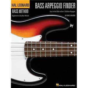 JOHNSON CHAD - BASS METHOD BASSE ARPEGGIO FINDER