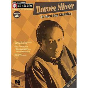 SILVER HORACE - JAZZ PLAY ALONG VOL.036 + CD