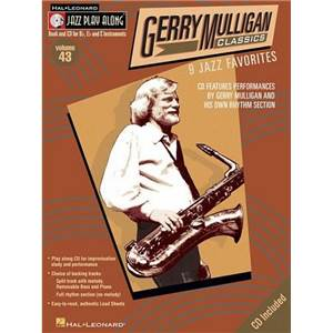 MULLIGAN GERRY - JAZZ PLAY ALONG VOL.043 + CD