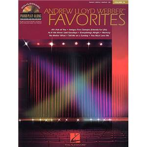 WEBBER ANDREW LLOYD - PIANO PLAY ALONG VOL.026 FAVORITES + CD
