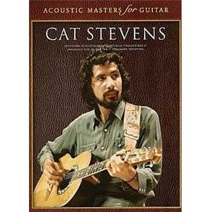 CAT STEVENS - ACOUSTIC MASTERS FOR GUITAR