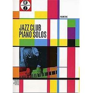 COMPILATION - JAZZ CLUB PIANO SOLOS FIFTEEN STANDARDS VOL.1