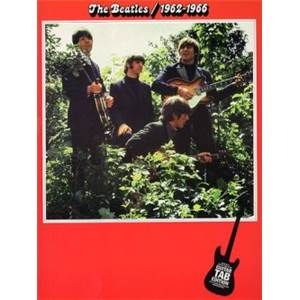 BEATLES THE - 1962 1966 GUITAR TAB. ROUGE