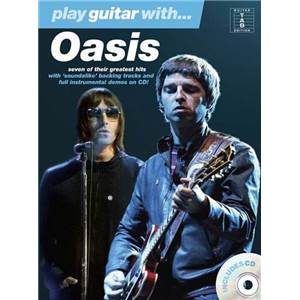 OASIS - PLAY GUITAR WITH + CD