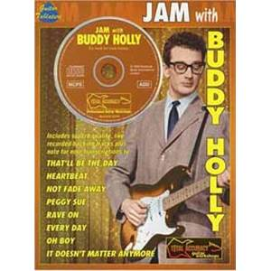 HOLLY BUDDY - JAM GUITAR TAB. + CD