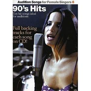 COMPILATION - AUDITION SONGS FOR FEMALE SINGERS : 90S HITS + CD