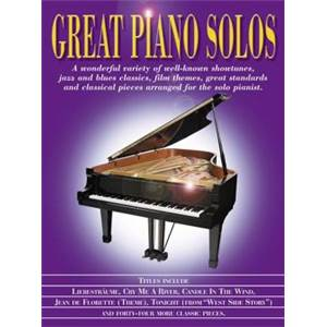 COMPILATION - GREAT PIANO SOLOS PURPLE BOOK