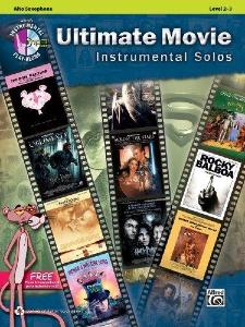 COMPILATION - ULTIMATE MOVIE INSTRUMENTAL SOLOS FOR ALTO SAX + CD