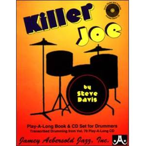 COMPILATION - JAZZ DRUM STYLES AND ANALYSIS AEB VOL.70 KILLER JOE + CD