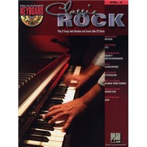 COMPILATION - KEYBOARD PLAY ALONG VOL.03 CLASSIC ROCK + CD