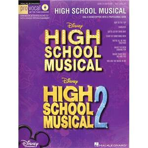 COMPILATION - PRO VOCAL FOR WOMEN SINGERS VOL.28 HIGH SCHOOL MUSICAL 1 AND 2 + CD