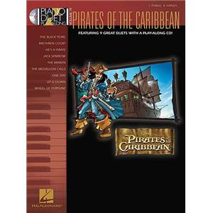 ZIMMER / BADELT - PIANO DUET PLAY ALONG VOL.19 PIRATES OF THE CARIBBEAN + CD