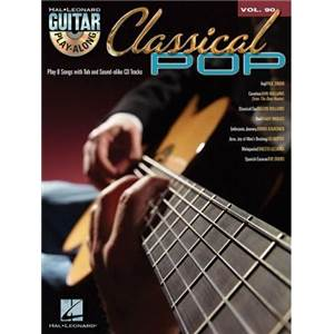 COMPILATION - GUITAR PLAY ALONG VOL.090 CLASSICAL POP + CD