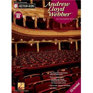 WEBBER ANDREW LLOYD - JAZZ PLAY ALONG VOL.083 + CD