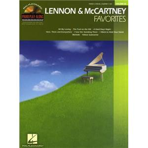 LENNON / MCCARTNEY - PIANO PLAY ALONG VOL.068 FAVORITES + CD