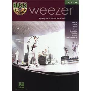 WEEZER - BASS PLAY-ALONG VOL.24 + CD
