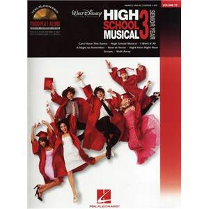 COMPILATION - PIANO PLAY ALONG VOL.072 HIGH SCHOOL MUSICAL 3 + CD