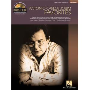 JOBIM ANTONIO CARLOS - PIANO PLAY ALONG VOL.084 + CD