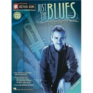 COMPILATION - JAZZ PLAY ALONG VOL.143 JUST THE BLUES + CD