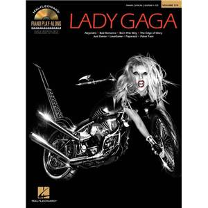 LADY GAGA - PIANO PLAY ALONG VOL.119 + CD