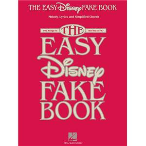 DISNEY - THE EASY DISNEY FAKE VOL.IN C 100 SONGS