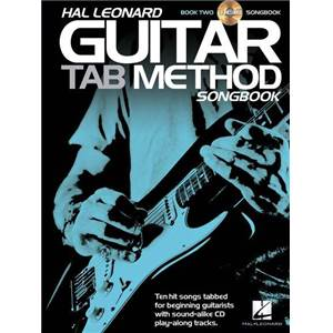 COMPILATION - HAL LEONARD GUITAR TAB. METHOD VOL.2 SONGBOOK + CD