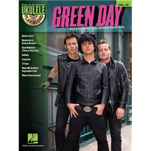 GREEN DAY - UKULELE PLAY ALONG VOL.25 + CD