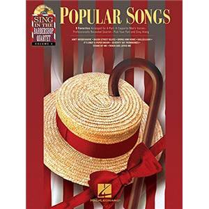 COMPILATION - SING IN THE BARBERSHOP QUARTET VOL.4 POPULAR SONGS + CD