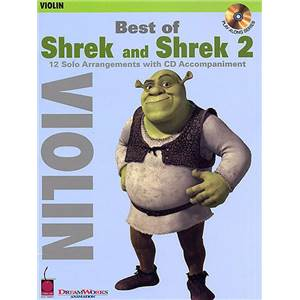 COMPILATION - SHREK AND SHREK 2, BEST OF (VIOLIN) + CD
