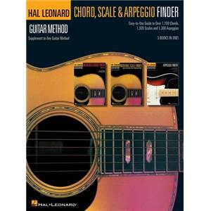 COMPILATION - HAL LEONARD CHORD, SCALE AND ARPEGGIO FINDER (296 PAGES)