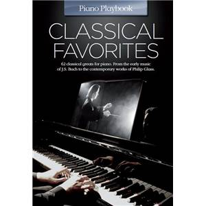 COMPILATION - PIANO PLAYBOOK CLASSICAL FAVOURITES P/V/G