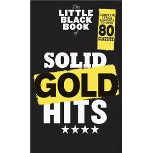 COMPILATION - LITTLE BLACK SONGBOOK (POCHE) SOLID GOLD HITS 80 SONGS