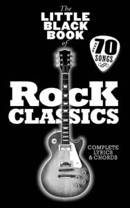 COMPILATION - LITTLE BLACK SONGBOOK (POCHE) ROCK CLASSICS 70 SONGS