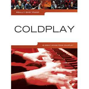 COLDPLAY - REALLY EASY PIANO UPDATED EDITION
