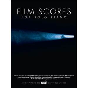 COMPILATION - FILM SCORES FOR SOLO PIANO + DOWNLOAD CARD