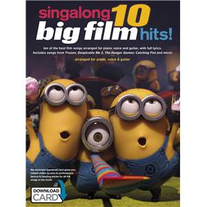 COMPILATION - SINGALONG 10 BIG FILM HITS + DOWNLOAD CARD