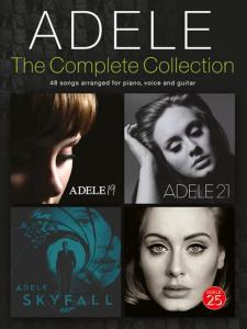 ADELE - THE COMPLETE COLLECTION 48 SONGS P/V/G