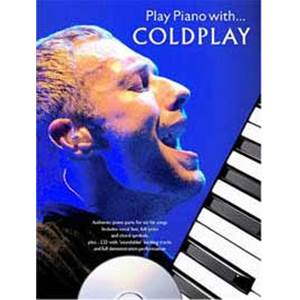 COLDPLAY - PLAY PIANO WITH... + CD