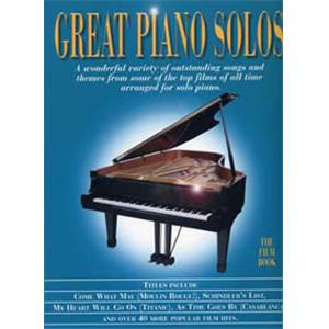 COMPILATION - GREAT PIANO SOLOS FILM BOOK