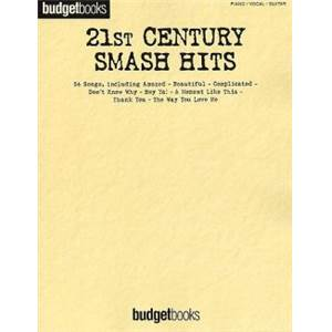 COMPILATION - BUDGETBOOKS 21ST CENTURY SMASH HITS P/V/G