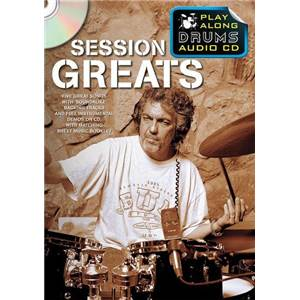 COMPILATION - SESSION GREATS PLAY ALONG DRUMS (FORMAT DVD) + CD