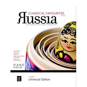 COMPILATION - CLASSICAL FAVORITES FROM RUSSIA FOR PIANO