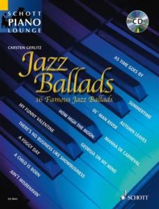 JAZZ BALLADS (ARRANGEMENTS PAR GERLITZ CARSTEN) +CD - PIANO